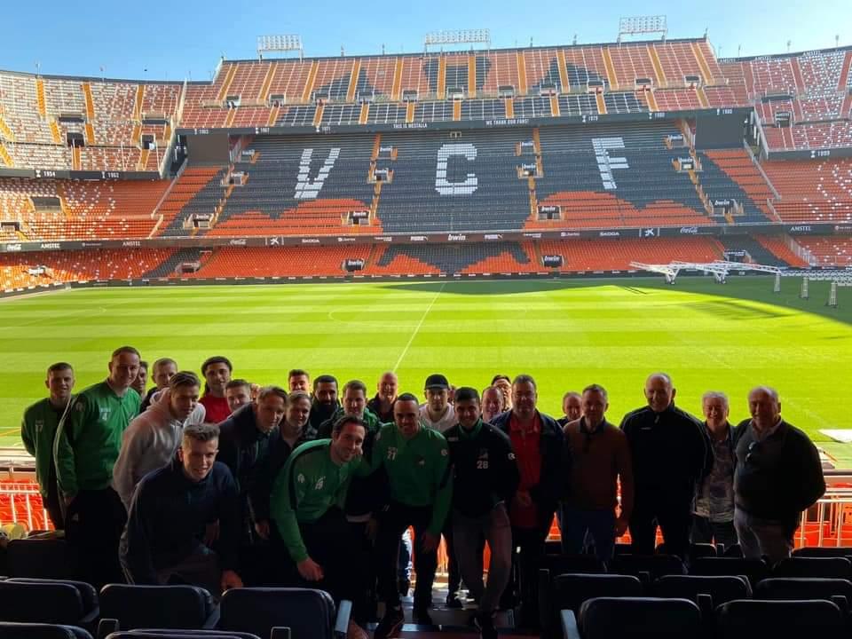 Voetbalkamp DHC Valencia